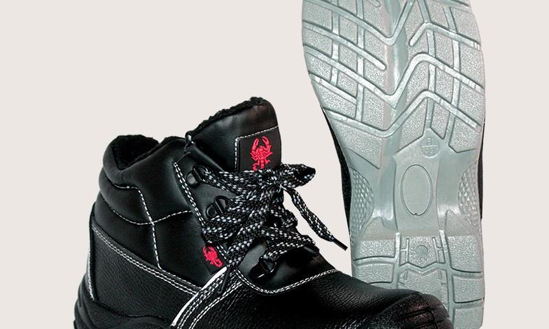 Рабочие ботинки из натуральной кожи | Ботинки рабочие Краснодар | Скорпион - обувная фабрика