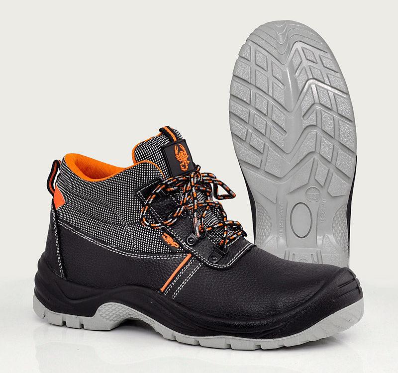Обувь рабочая с металлическим подноском | Рабочая обувь завод | Скорпион - обувь оптом с завода