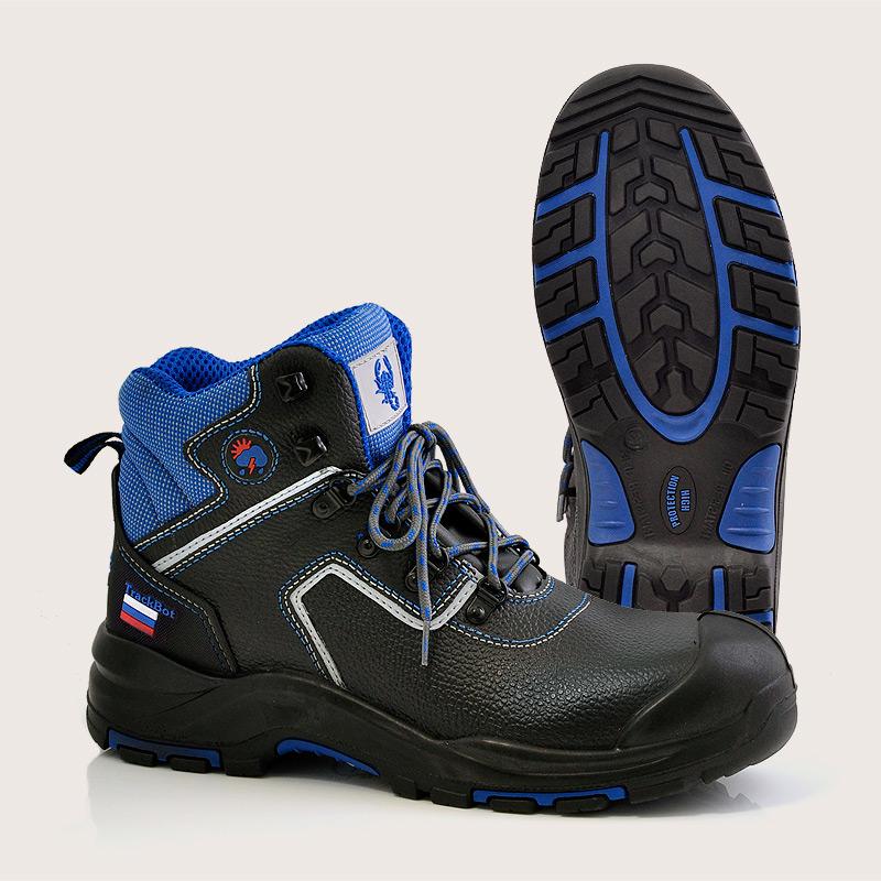 Ботинки рабочие с прочным носком | Рабочая обувь купить | Скорпион - обувь оптом в СНГ