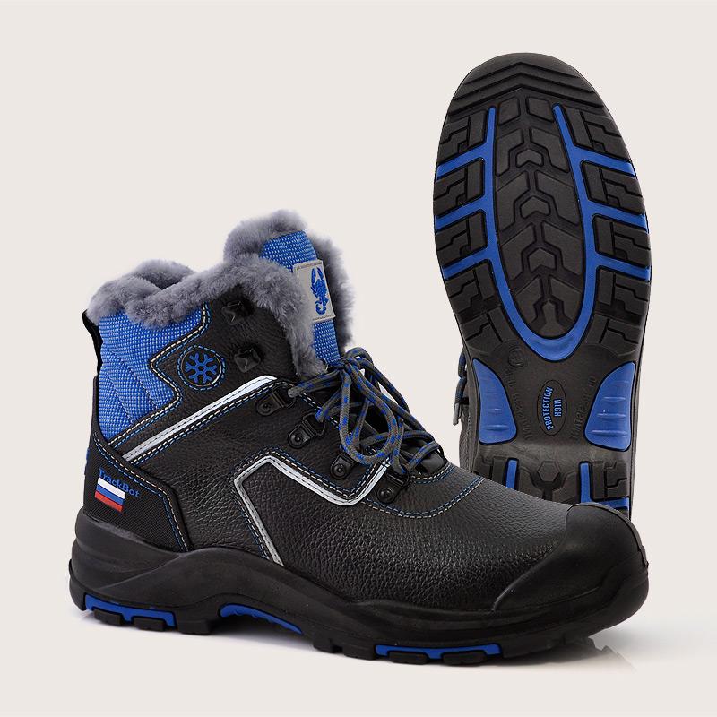 Ботинки рабочие кожаные | Ботинки рабочие утепленные | Скорпион - утепленные ботинки оптом