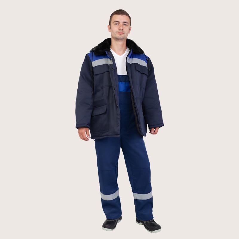 Купить рабочую одежду в спб | Зимний комплект рабочей одежды мужской | Скорпион - зимняя одежда для работы